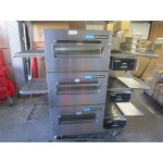 LINCOLN IMPINGER 1116 CONVEYOR TRIPLE PIZZA OVEN